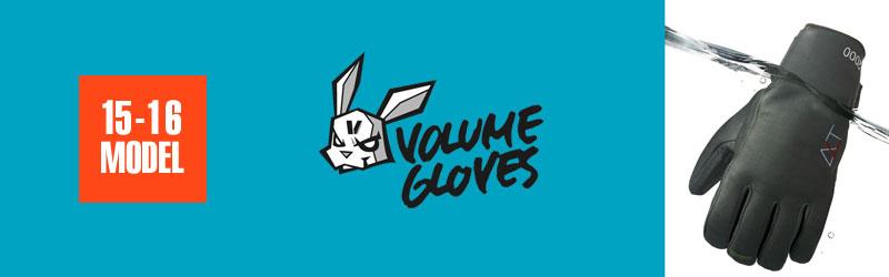 ボリュームグローブ|VOLUME GLOVES 15-16モデル