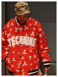 TECHNINE|テックナインBASEBALL-JACKET Red/White