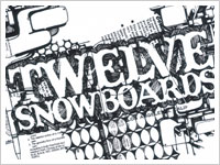 12|TWELVE SNOW BOARD ロゴ