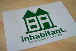 インハビタント|INHABITANT 10-11モデル